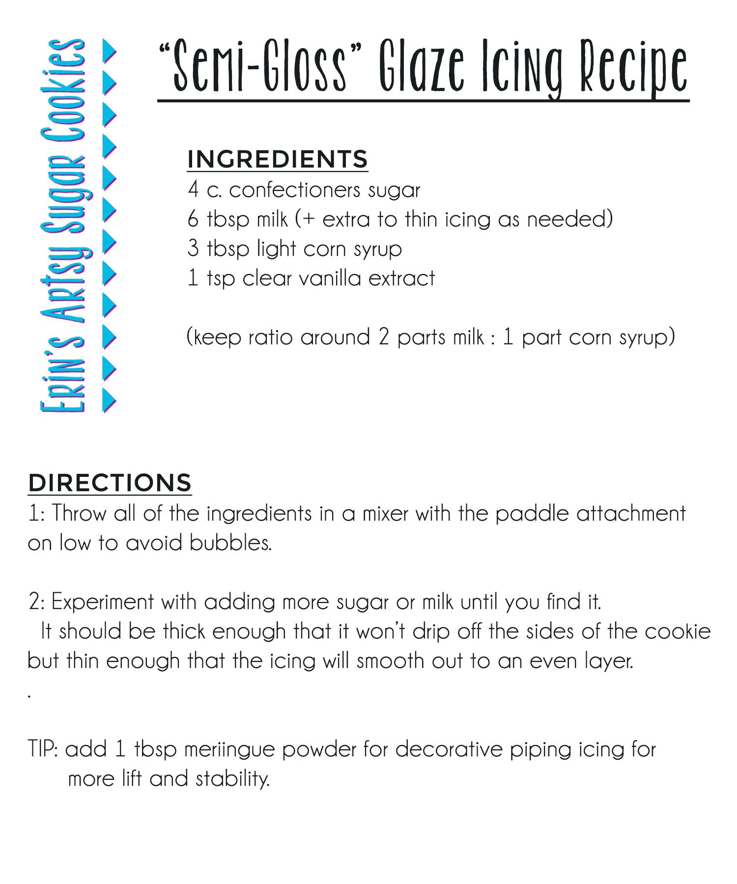 Sweetambs sugar cookie recipe